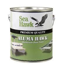aluma hawk boat paint by sea hawk paints