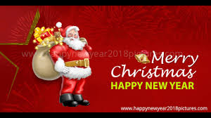 Merry christmas and a happy new year 2018 wishes - YouTube