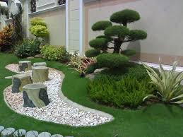 Small Picture Simple Home Garden Layout Design Idea 4 Home Ideas
