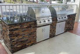 building outdoor kitchen building outdoor kitchens for every budget fresh dueling grills custom outdoor kitchen build building outdoor kitchen
