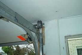 beautiful garage door track bracket with low headroom garage doors with double tracks dans garage door