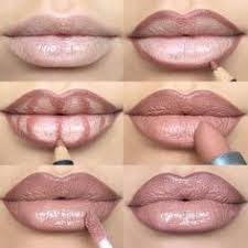 lip contouringlips step by step how to make your lips appear fuller kiss mac e lip liner