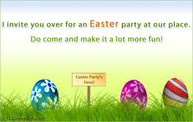 Easter Party Invitation Free Invitations Ecards Greeting