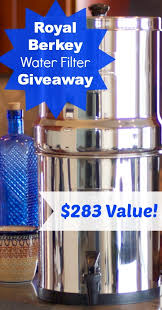 royal berkey water filter. Royal Berkey Water Filter Giveaway