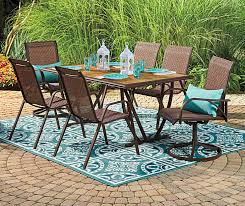 architecture wilson fisher patio furniture set new cayman 6 piece deep intended for 0 from