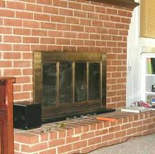 can you paint a brick fireplace fireplace brick paint brick fireplace before red brick fireplace paint colors fireplace brick paint