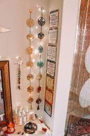 Chakra magic wall hanging decor. Chakra Magic Wall Hanging Decor In 2020 Meditation Room Decor Meditation Rooms Meditation Co Meditation Room Decor Meditation Room Design Meditation Corner