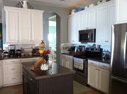 White And Gray Kitchen White And Gray Kitchen Sw Snowbound Cabinets Sw Mineral Deposit