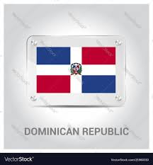 Dominican Flag Design Dominican Republic Flag Design Vector Image On Vectorstock