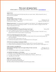 6 Format Of Resume For Fresher Teacher Bussines Proposal 2017