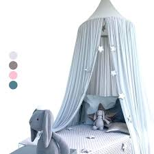 bedding canopy baby kids bedding round dome bed canopy cotton linen mosquito net curtain mosquito net