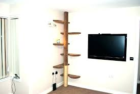 wall mounted cat furniture. Terrific Wall Mounted Furniture Cat Tree Shelves Designs