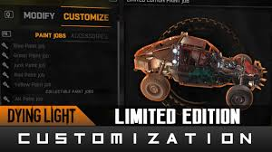 Dying Light The Following Paint Jobs Dying Light The Following Limited Edition Paint Job For Your Buggy