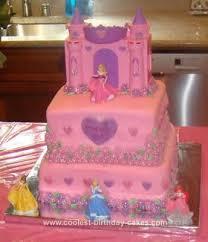Coolest Disney Princess Cake