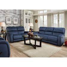 Navy Living Room Furniture Radical Living Room Reclining Sofa Loveseat Navy 88431192