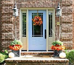 thanksgiving front door decorationsDecorate Your Front Door for Thanksgiving  Doors by Design