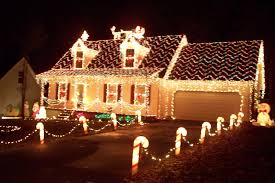 ... Comfortable How To Decorate A House For Christmas Best Decorated Houses  ...