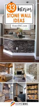 Interior Stone Design Ideas Best Interior Stone Wall Ideas And Designs Living Room
