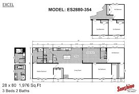 excel the mallard es2880 354 layout