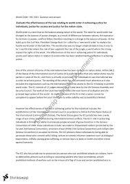 hsc essay effectiveness of world order year hsc legal hsc essay effectiveness of world order