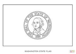 Small Picture Washington State Flag coloring page Free Printable Coloring Pages