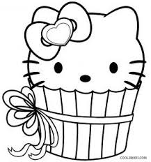 Cartoons, cartoons coloring pages, cartoons coloring sheets, free you know all advantages of coloring pages. Hello Kitty Cupcake Coloring Page Cupcake Coloring Pages Shopkins Coloring Pages Free Printable Hello Kitty Colouring Pages