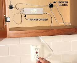 plug in cabinet lighting. Under Cabinet Plug In Lights Multiple Outlet How To Wire Install . Lighting