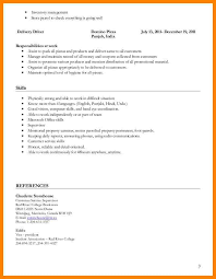 6+ pizza delivery driver resume sample