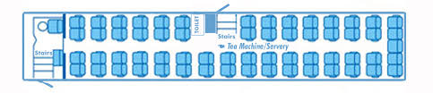 Coach Bus Seating Chart Coach Minibus Hire By Ferris Holidays Book Today