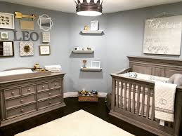 Traditional Boy Nursery with Crown Light Fixture - Project Nursery