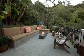 latest craze european outdoor furniture cement. Above: A Concrete Buckshot Firepit Is Available In Five Sizes And Four Finishes At Prices From $2,450 To $3,495 Depending On Size Finish Latest Craze European Outdoor Furniture Cement