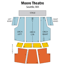 Moore Theater Seattle Seating Chart 32 Factual Moore Theater Seating Chart