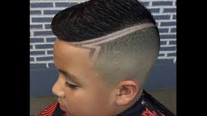Designs For Kids Hair Cool Hairstyle Haircut Design Fade With Side Part Combover Fade Hairstyles For Kids