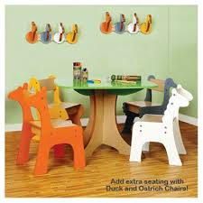 baby playroom furniture. safari collection tree table with giraffe and zebra chairs toddler baby playroom furniture