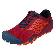 Merrell All Out Terra Light Ladies Merrell Casual Trainers All Out Terra Light