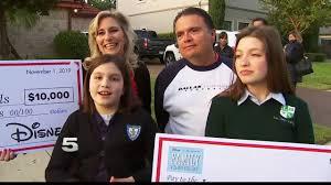 Disney Points Of Light Mcallen Family Wins Disney Points Of Light Volunteer Family Of The Year