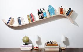 Curved Floating Shelf. Wall Floating Shelves