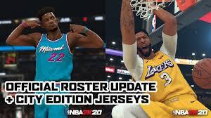 NBA 2K20 Official Roster Update 12.24 ...