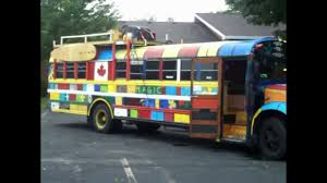Hippie Buses School Bus Turned Hippy Conversion Youtube