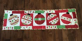 Christmas Table Runner Patterns Delectable Quilted Holiday Table Runner Patterns Table Runners
