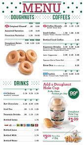 Krispy kreme is one of america's favorite places to grab a sweet treat and a coffee. Krispy Kreme Menu Google Search Food And Drink Aesthetic Food Krispy Kreme