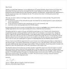 Format Of A Sponsorship Letter Custom 48 Donation Letter Templates PDF DOC Free Premium Templates