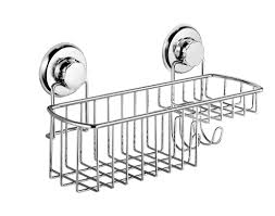 Suction Cup Bathroom Accessories Hasko Accessories Powerful Vacuum Suction Cup Shower Caddy