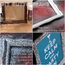 diy glitter furniture. Cool DIY Crafts Made With Glitter - Sparkly, Creative Projects And Ideas For The Bedroom Diy Furniture