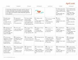Monthly Dinner Planner Family Friendly April Monthly Menu Plan Your Kids Table