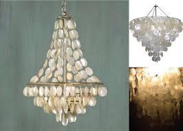dining room contemporary interior lighting design with capiz shell chandelier mcgrecords com
