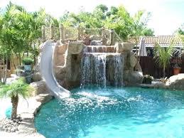 Rock Waterfalls For Inground Pools Pool Waterfalls Apartment 5 Pool