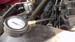 2001 Chevrolet Silverado 5.3L Fuel Pressure Test - YouTube
