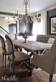 rustic chic dining room ideas. Impressive Dining Room Chairs Lovely Ideas Rustic Chic Best Rooms On Pinterest Of