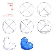bubble letter L